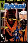 Nightmask #8 comic books - cover scans photos Nightmask #8 comic books - covers, picture gallery