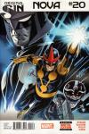 Nova #20 comic books for sale