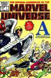 Official Handbook of the Marvel Universe #1 Comic Books - Covers, Scans, Photos  in Official Handbook of the Marvel Universe Comic Books - Covers, Scans, Gallery