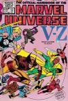 Official Handbook of the Marvel Universe #12 comic books - cover scans photos Official Handbook of the Marvel Universe #12 comic books - covers, picture gallery