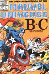 Official Handbook of the Marvel Universe #2 Comic Books - Covers, Scans, Photos  in Official Handbook of the Marvel Universe Comic Books - Covers, Scans, Gallery