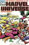 Official Handbook of the Marvel Universe comic books
