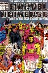 Official Handbook of the Marvel Universe #17 comic books for sale