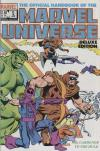 Official Handbook of the Marvel Universe #5 comic books - cover scans photos Official Handbook of the Marvel Universe #5 comic books - covers, picture gallery