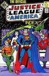 Official Justice League of America Index #1 cheap bargain discounted comic books Official Justice League of America Index #1 comic books