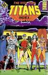 Official Teen Titans Index #3 comic books for sale