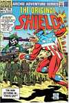Original Shield #4 comic books - cover scans photos Original Shield #4 comic books - covers, picture gallery