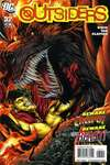 Outsiders #32 comic books - cover scans photos Outsiders #32 comic books - covers, picture gallery