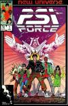 PSI-Force #1 comic books for sale
