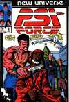PSI-Force #6 comic books - cover scans photos PSI-Force #6 comic books - covers, picture gallery