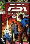 PSI-Force #7 comic books - cover scans photos PSI-Force #7 comic books - covers, picture gallery