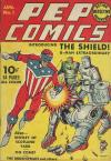 Pep Comics comic books