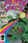 Power Pack #20 comic books - cover scans photos Power Pack #20 comic books - covers, picture gallery
