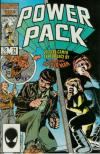 Power Pack #21 comic books - cover scans photos Power Pack #21 comic books - covers, picture gallery