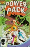 Power Pack #25 comic books - cover scans photos Power Pack #25 comic books - covers, picture gallery