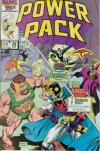 Power Pack #28 comic books - cover scans photos Power Pack #28 comic books - covers, picture gallery