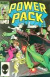 Power Pack #4 comic books - cover scans photos Power Pack #4 comic books - covers, picture gallery