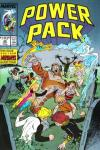 Power Pack #40 comic books - cover scans photos Power Pack #40 comic books - covers, picture gallery