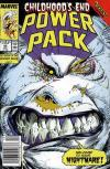 Power Pack #42 comic books - cover scans photos Power Pack #42 comic books - covers, picture gallery