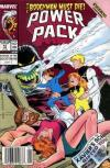 Power Pack #43 comic books - cover scans photos Power Pack #43 comic books - covers, picture gallery