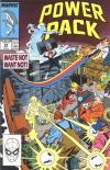 Power Pack #49 comic books - cover scans photos Power Pack #49 comic books - covers, picture gallery