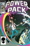 Power Pack #5 comic books - cover scans photos Power Pack #5 comic books - covers, picture gallery
