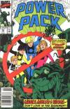 Power Pack #55 comic books - cover scans photos Power Pack #55 comic books - covers, picture gallery