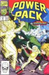 Power Pack #57 comic books - cover scans photos Power Pack #57 comic books - covers, picture gallery