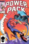 Power Pack #6 comic books - cover scans photos Power Pack #6 comic books - covers, picture gallery