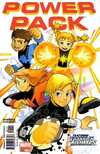 Power Pack comic books