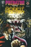 Predator vs. Magnus Robot Fighter comic books