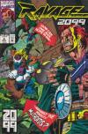 Ravage 2099 #4 comic books - cover scans photos Ravage 2099 #4 comic books - covers, picture gallery
