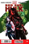 Red She-Hulk comic books