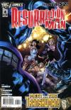 Resurrection Man #4 comic books - cover scans photos Resurrection Man #4 comic books - covers, picture gallery