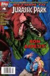 Return to Jurassic Park #4 comic books for sale