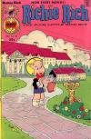 Richie Rich #136 comic books - cover scans photos Richie Rich #136 comic books - covers, picture gallery