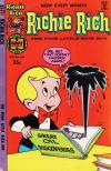 Richie Rich #166 comic books - cover scans photos Richie Rich #166 comic books - covers, picture gallery