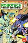 Robotech: The New Generation #2 comic books - cover scans photos Robotech: The New Generation #2 comic books - covers, picture gallery