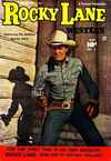 Rocky Lane Western comic books