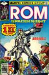 Rom comic books