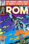 Rom #10 comic books for sale