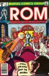 Rom #15 comic books for sale