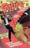 Sabre #10 Comic Books - Covers, Scans, Photos  in Sabre Comic Books - Covers, Scans, Gallery