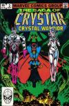 Saga of Crystar: Crystal Warrior #3 comic books - cover scans photos Saga of Crystar: Crystal Warrior #3 comic books - covers, picture gallery