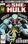 Savage She-Hulk #21 comic books - cover scans photos Savage She-Hulk #21 comic books - covers, picture gallery