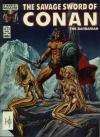 Savage Sword of Conan #100 comic books - cover scans photos Savage Sword of Conan #100 comic books - covers, picture gallery