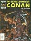 Savage Sword of Conan #120 comic books - cover scans photos Savage Sword of Conan #120 comic books - covers, picture gallery