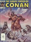 Savage Sword of Conan #136 comic books - cover scans photos Savage Sword of Conan #136 comic books - covers, picture gallery