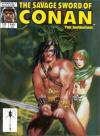 Savage Sword of Conan #150 comic books - cover scans photos Savage Sword of Conan #150 comic books - covers, picture gallery