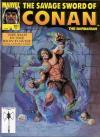 Savage Sword of Conan #201 comic books - cover scans photos Savage Sword of Conan #201 comic books - covers, picture gallery